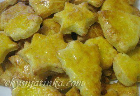 Сырное печенье - фото
