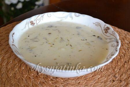 Сырный суп в мультиварке - фото