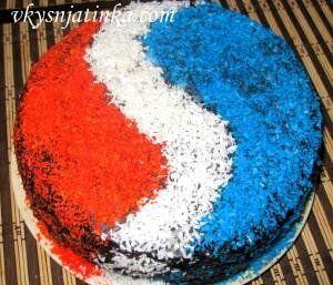 Торт «Фейерверк» - фото