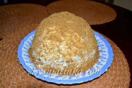 Торт из печенья - фото