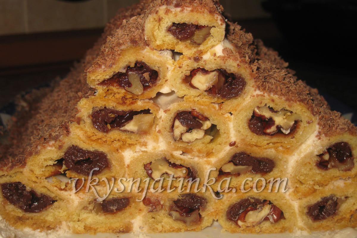Торт «Монастырская изба» - фото