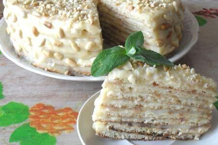 Торт на сковороде - фото