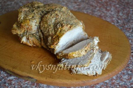 Вкусное филе индейки тушеное в мультиварке - фото