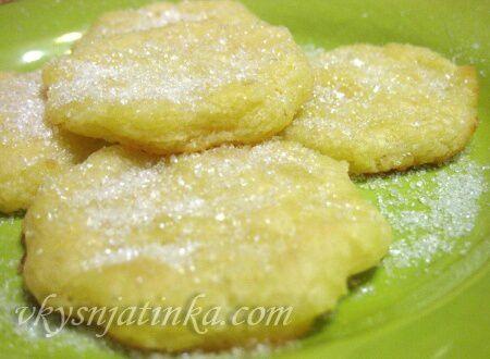 Творожное печенье - фото