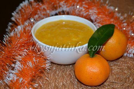 Варенье из мандаринов без кожуры - фото