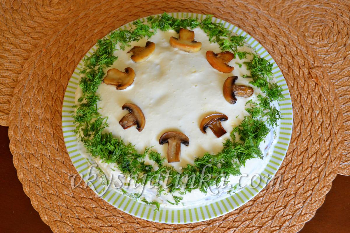 Закусочный пирог - фото