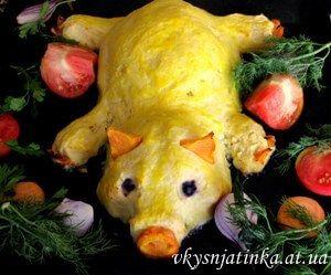 Картофельный поросёнок - фото