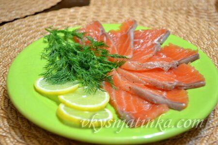 Засолка красной рыбы в домашних условиях - фото
