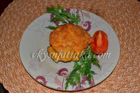 Жареная икра сазана в панировке - фото