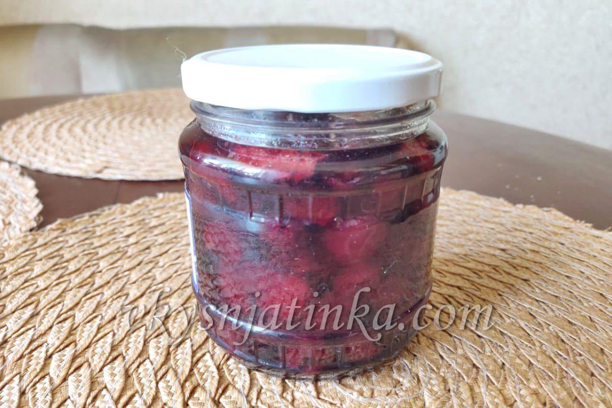 Жареное варенье из вишни - фото